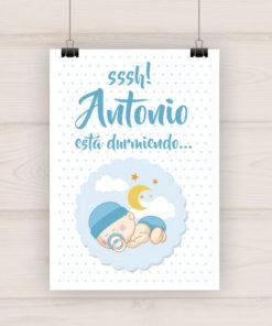 lamina-bebe-infantil-decoracion-cuadro-durmiendo-nino1