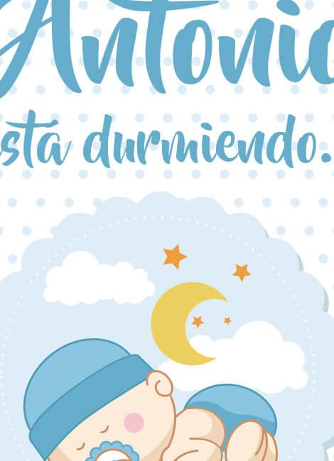 lamina-bebe-infantil-decoracion-cuadro-durmiendo-nino2