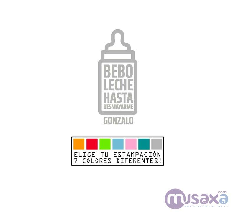 Body Beb/é Personalizado con Nombre Regalos Personalizados para Beb/és Varias Tallas Bella y Bestia Bodies Personalizados Manga Larga