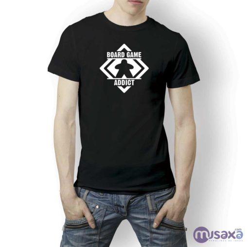 camiseta-board-game-addict
