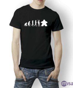 camiseta-juegos-mesa-meeple-evolucion